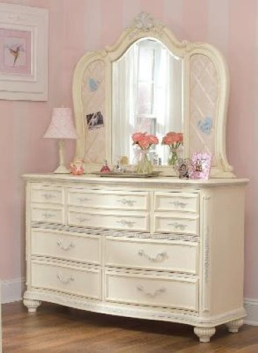Jessica Mcclintock Romance Dresser Drawer Chest Bureau