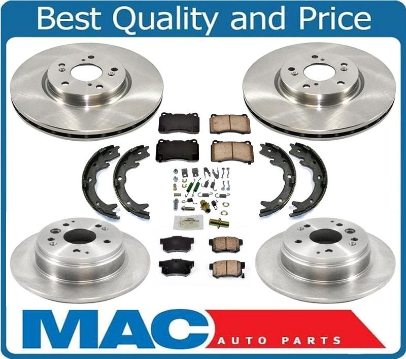 Brake Rotors For Acura TL 3.2L With Manual Transmission 04