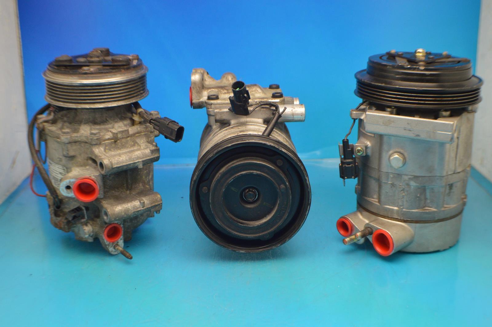 AC Compressor For 1986-1989 Hyundai Excel R57563 1 year Warranty