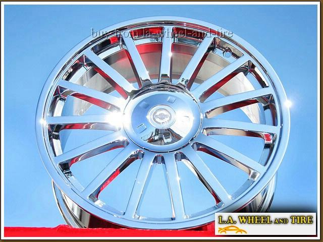 Set Of 4 New Chrome 18 Quot 19 Chrysler Crossfire Srt6 Oem