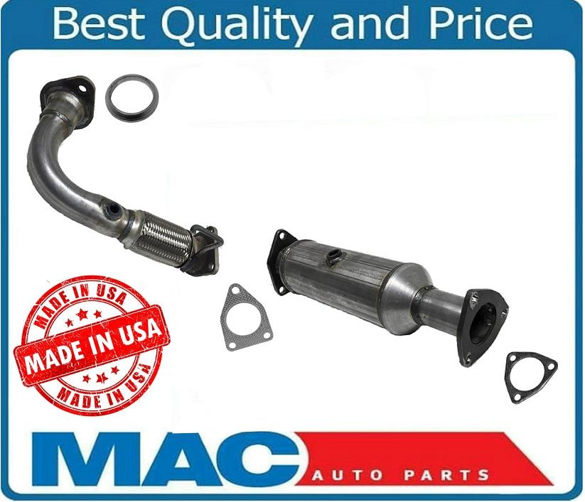 Front Flex Pipe & Catalytic Converter For Acura TSX 2.4L
