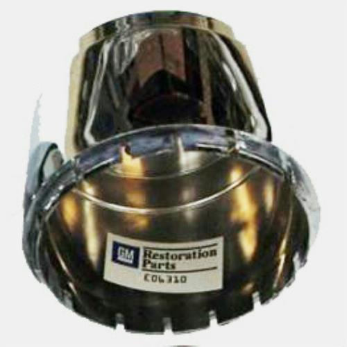 76-82 CORVETTE ALUMINUM ALLOY WHEEL CHROME PLASTIC CENTER CAPS NEW SET 4 #707