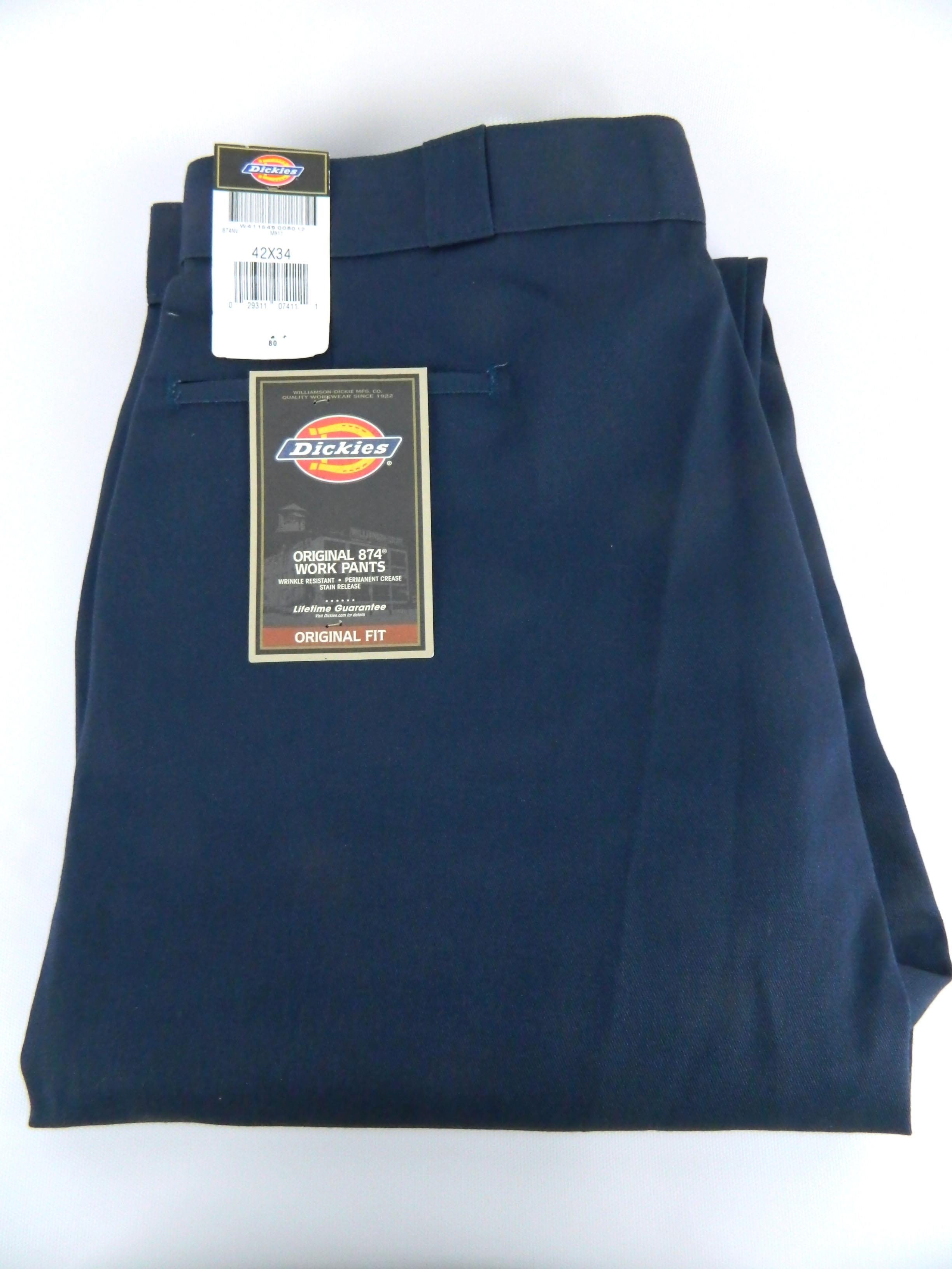 d985ea0ae32a Details about new with tags mens dickies original classic work pants navy  blue jpg 2448x3264 Aged