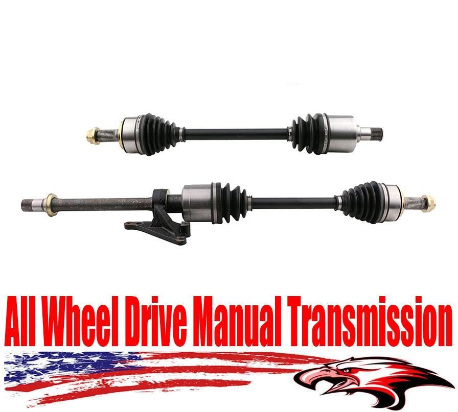 New Front All Wheel Drive Manual Transmission Axles For