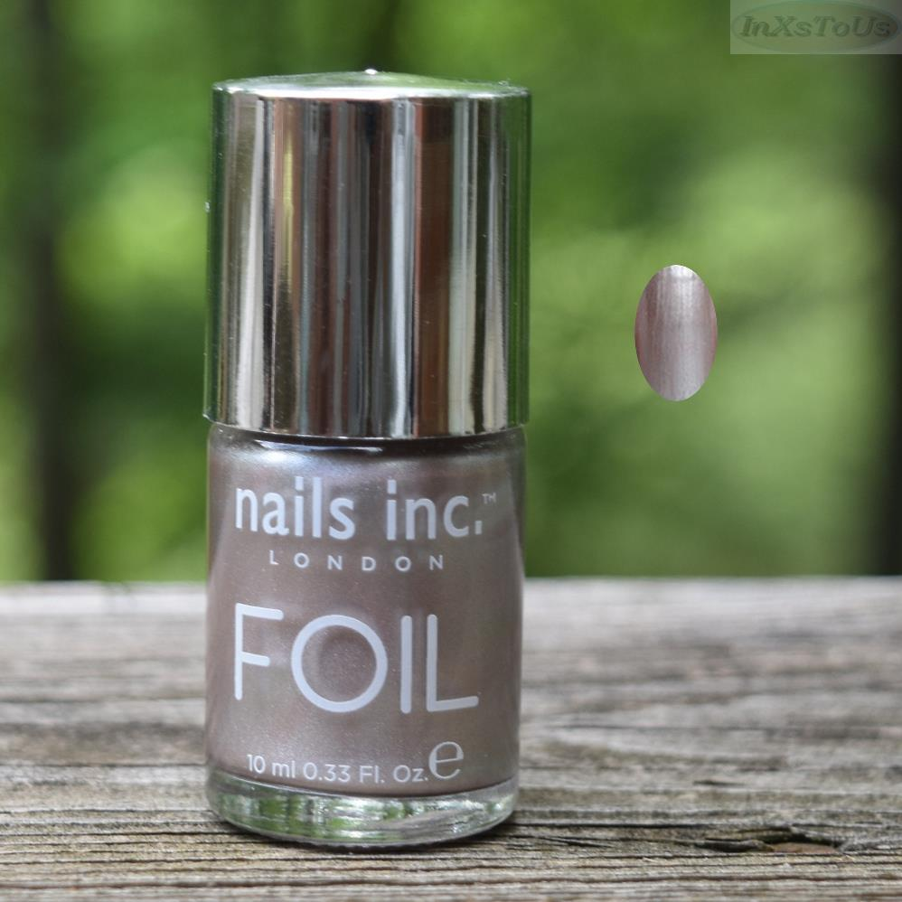 Nails Inc. London Foil Effect Nail Polish Lacquer in Kings Road Full ...