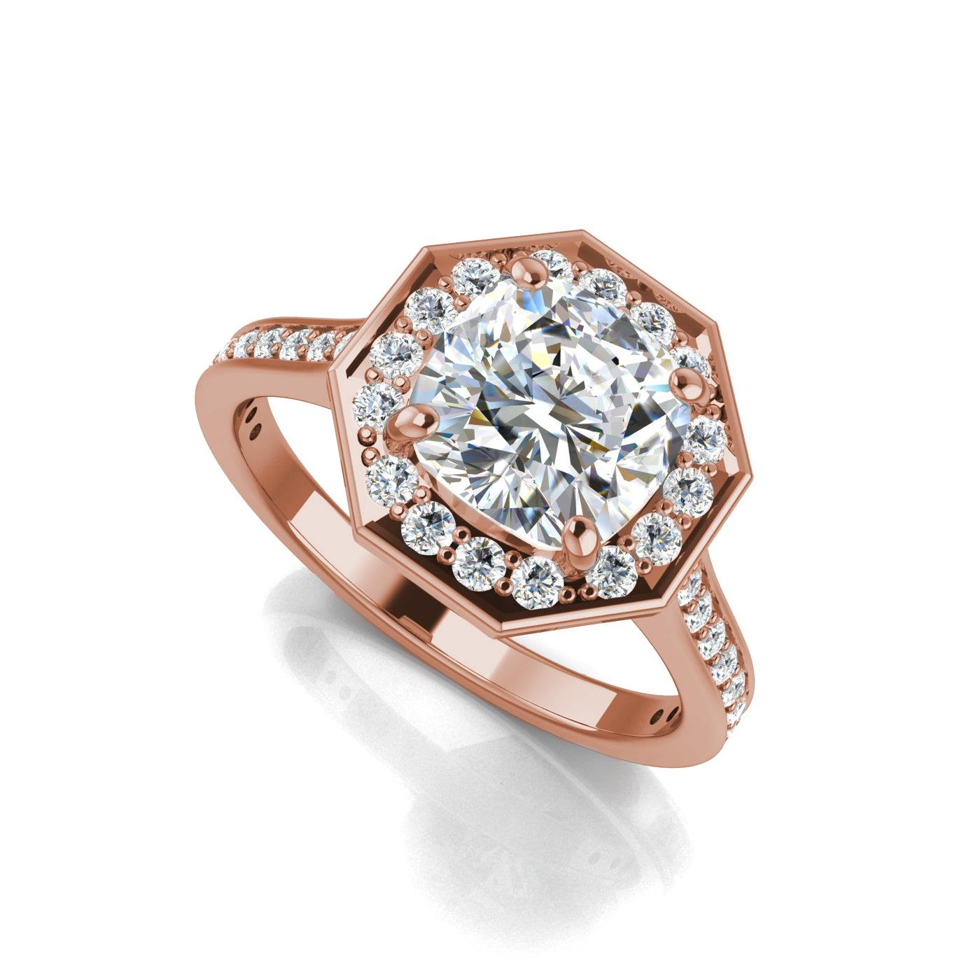 diamond baguette cushion collections vvs classic rings products cut g platinum ring gia certified