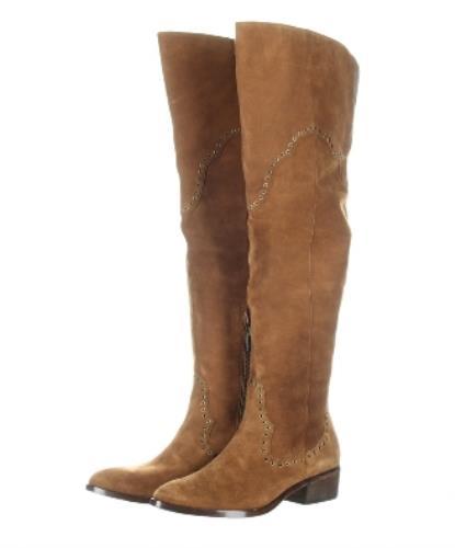 Frye Ray Grommet OTK Suede Stiefel Sz Tall Wood Braun Stiefel 548 NEW Sz Stiefel 7 ... 44fe20