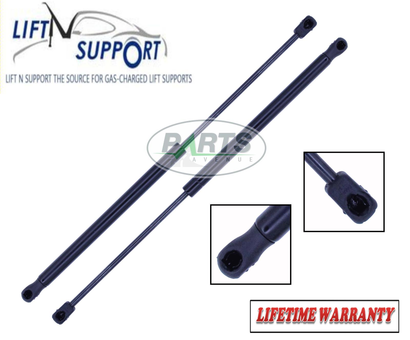 Two New Rear Door Hatch Lift Supports TailGate Liftgate Gate Shock Strut Arm Rod