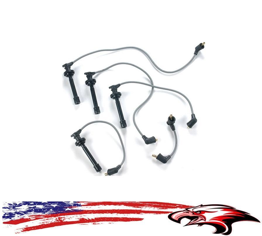 SPARK PLUG WIRES SENTRA 91-99  200SX 95-98  NX 91-93 L4 1.6L GA16DE MADE IN USA