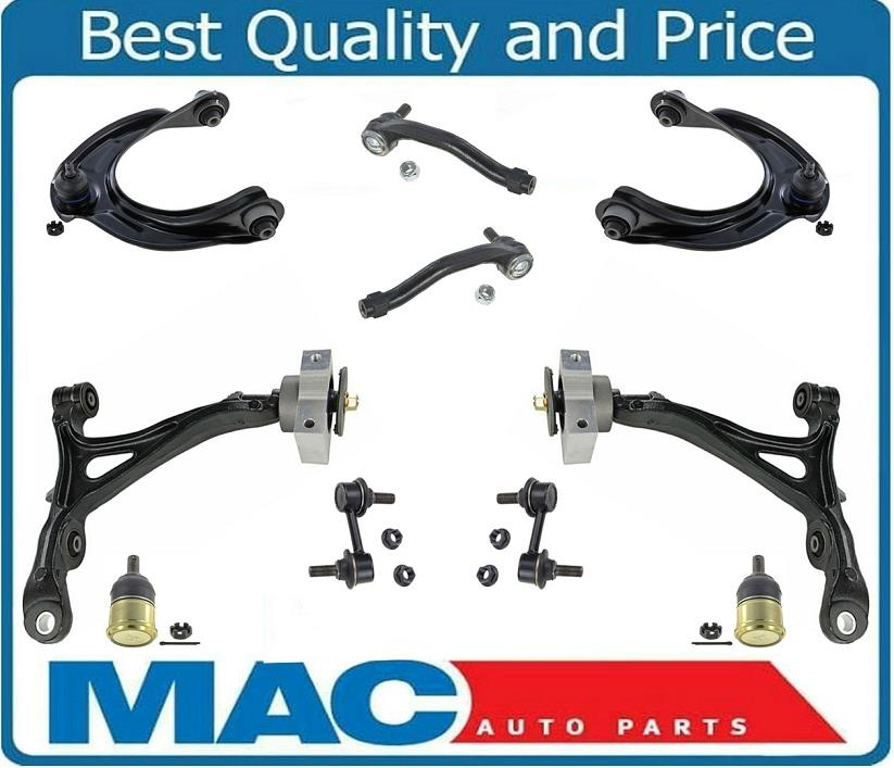 For 09-13 328i xDrive 4 Control Arms With Bushings Sway Bar Links /& Ball Joints