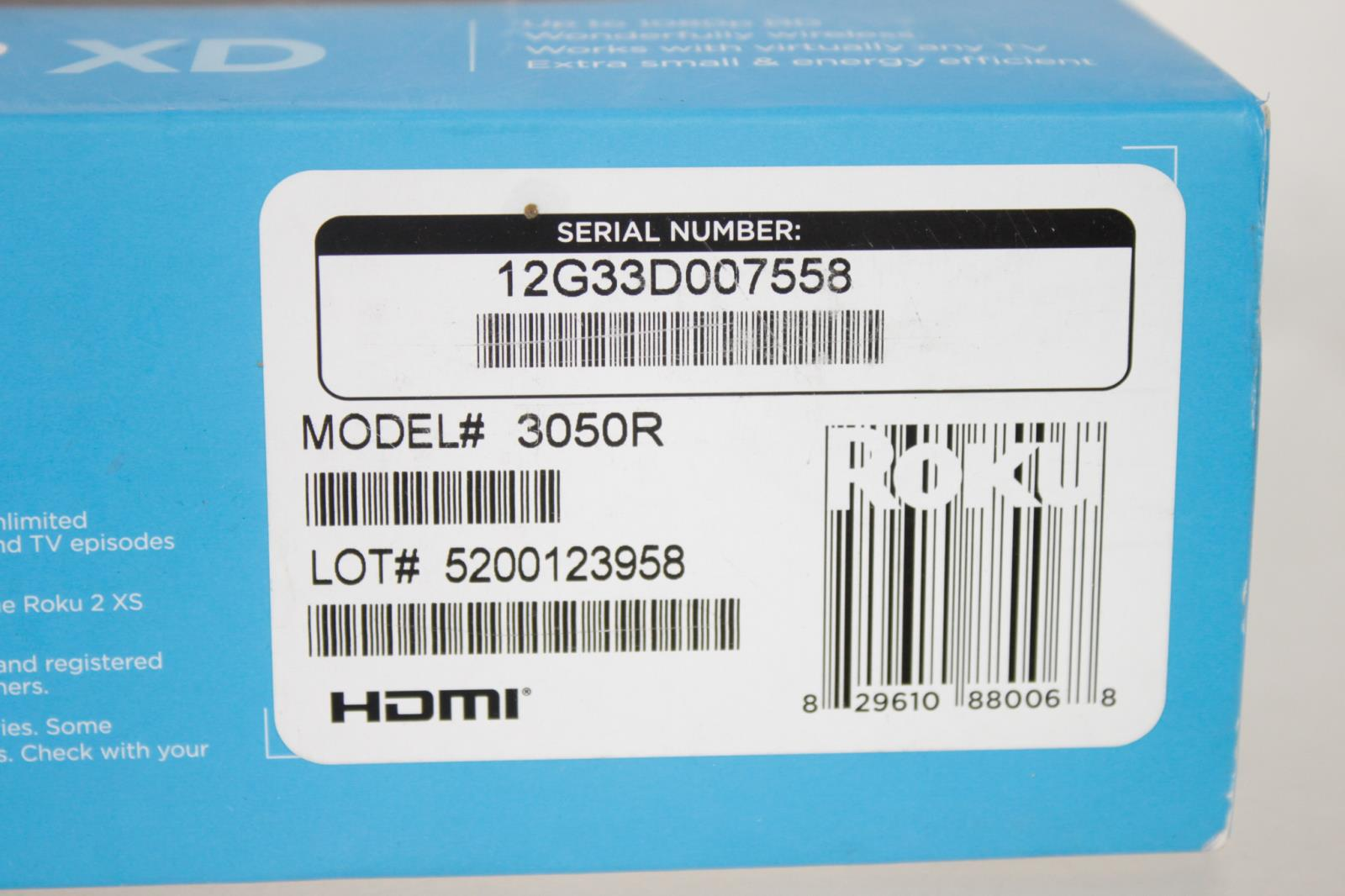 Roku 2 Xd 1080p Digital Hd Media Streaming Player Ebay